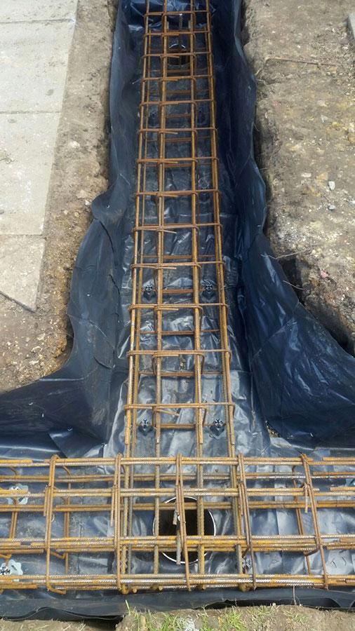 Reinforcement Concrete Strip Piling Amp Structural Services Ltd